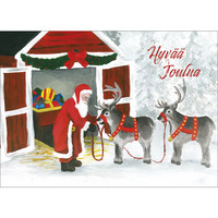 Christmas postcard - Santa Claus, CesiDesign #7