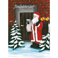 Christmas postcard - Santa Claus, CesiDesign #8