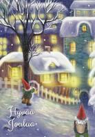 Joulukortti - Tontut #1