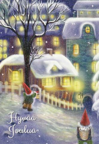 Christmas cards - Elves #1