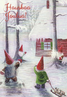 Christmas cards - Elves #2