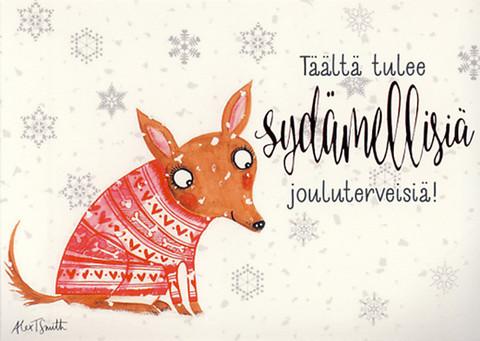 Here comes the heartfelt Christmas greetings!