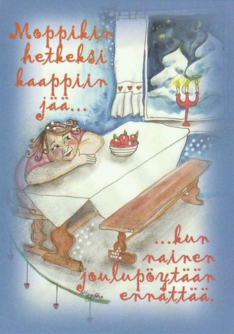 Christmas postcard - Happy Christmas #3