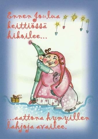 Christmas postcard - Happy Christmas #4