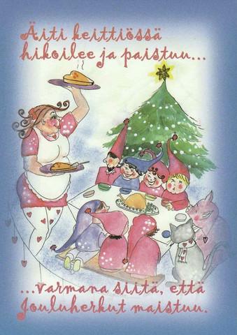 Christmas postcard - Happy Christmas #6