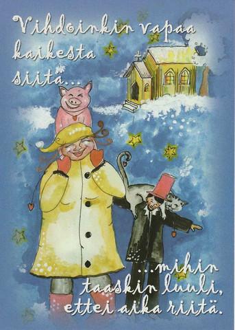 Christmas postcard - Happy Christmas #7