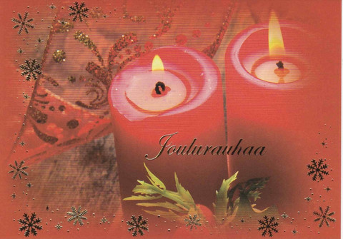 Christmas postcard - The atmosphere of the flame #8