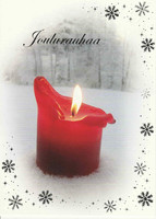 Christmas postcard - The atmosphere of the flame #15