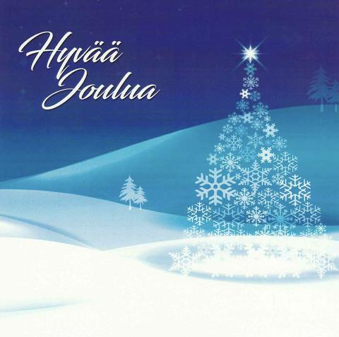 Joulukortti - Tuikkikaa joulun tähtöset (neliökortti 14x14cm) #1