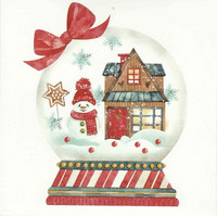 Christmas postcard - It feels like Christmas (square card 14x14cm) #3