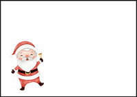 Santa Claus - envelope (C6) #2
