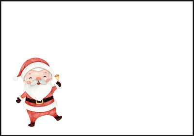 Joulupukki - kirjekuori (C6) #2