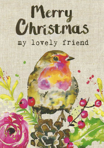 Merry Christmas my lovely friend