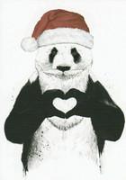 Jouluinen panda