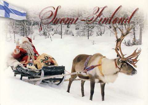 Suomi-Finland lumimaisema #3