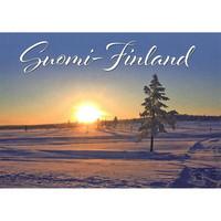 Suomi-Finland snow landscape #5
