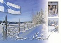Suomi-Finland snow landscape #6
