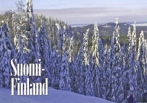 Suomi-Finland lumimaisema #7