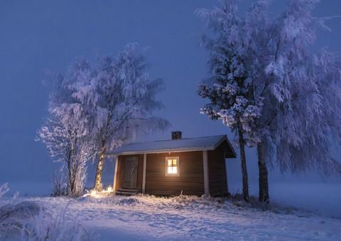 Suomi-Finland snow landscape #9