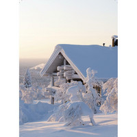 Suomi-Finland snow landscape #12