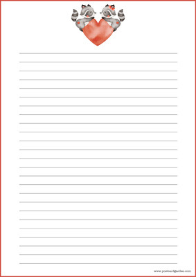 Pesukarhut - kirjepaperit (A5, 10s) #1