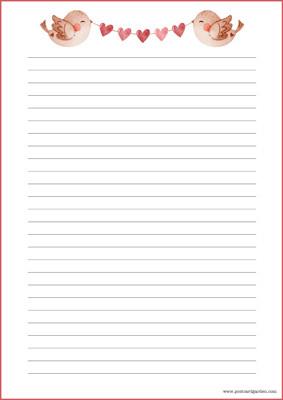 Linnut - kirjepaperit (A4, 10s) #1