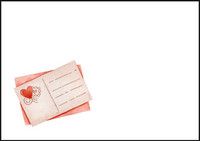 Heart postcard - envelope (C6) #1