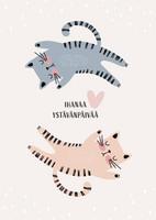 Ihanaa ystävänpäivää - kissat