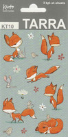 Fox-stickers (3 sheets)