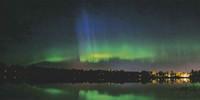 Aurora borealis (10x20cm) #1