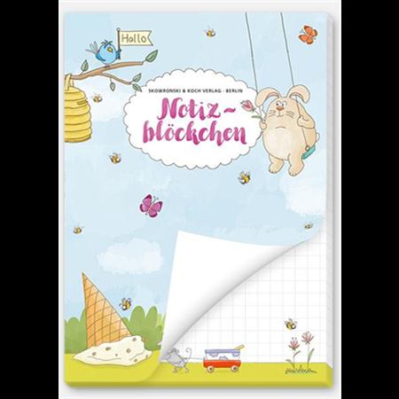 Animals - paper pad (A6, 50 sheets)