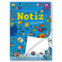Fish - paper pad (A6, 50 sheets)