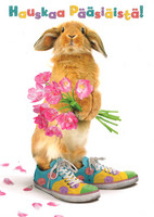Hauskaa pääsiäistä - pupu