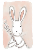 Sari Haapa - Bunny and willow branches