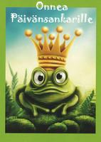 Congratulations - frog