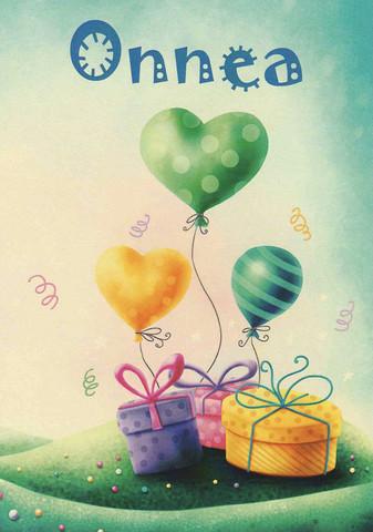 Congratulations - gifts and balloonsa