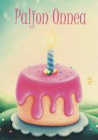 Congratulations - birthday cake