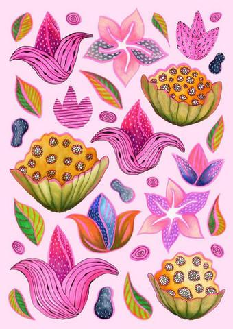 Utuliini - Pink bloom