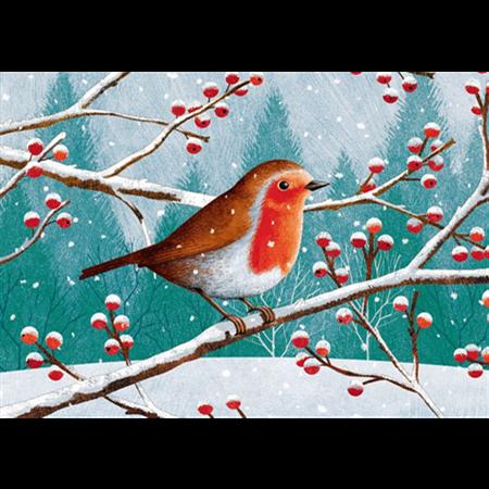 Talvinen punarinta