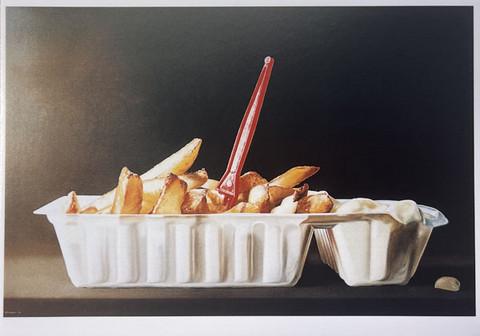 Potatoes and mayonnaise