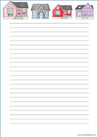 Talot -kirjepaperit (A4, 10s) #1