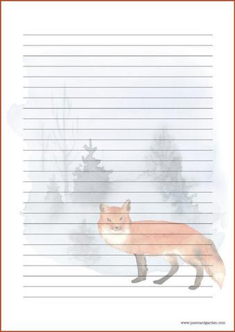 Kettu - kirjepaperit (A4, 10s) #7