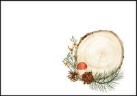 Tree and cones - envelope (C6) #1