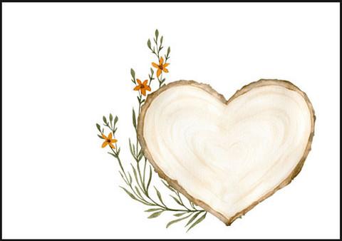 Puu ja kukka - kirjekuori (C6) #1
