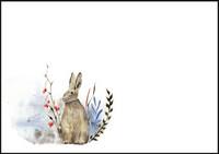 Bunny - envelope (C6) #3