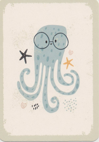 Octobus with glasses
