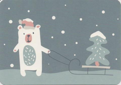 Jouluinen jääkarhu