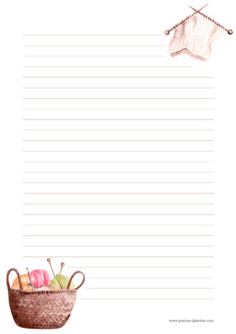 Yarns - writing papers (A4, 10s) #1
