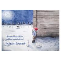 Joulukortti - Tontun joulu #1