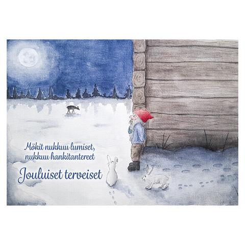 Christmas postcard - Elf's Christmas #1